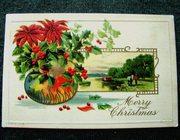 С Рождеством! США,  1909 год.
