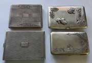 Продаются серебряные портсигары, предметы коллекционирования и старины.