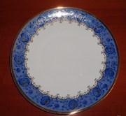 блюдо императорского фарфора товарищества м с кузнецова
